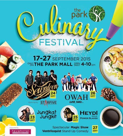 The Park Culinary Festival di The Park Mall Solo Baru