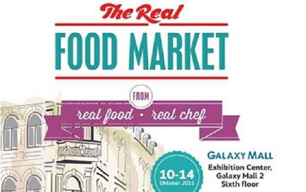 The Real Food Market di Galaxy Mall 2 Surabaya