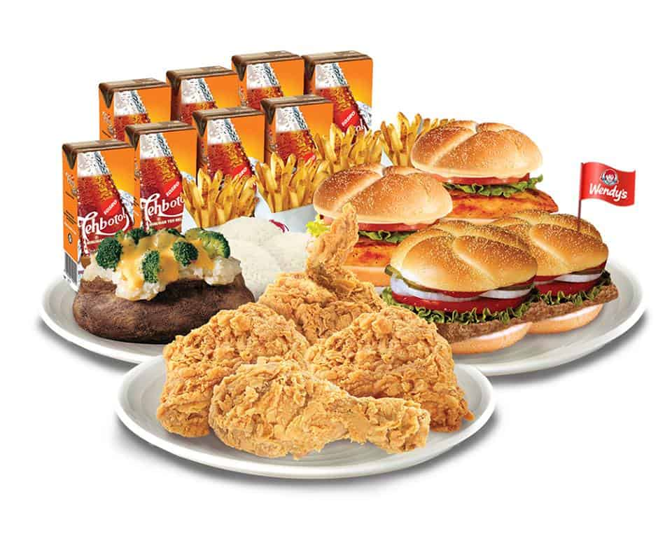 Wendy's Promo Spesial Delivery Hanya Rp. 300.000/8 Orang (Free Juice)