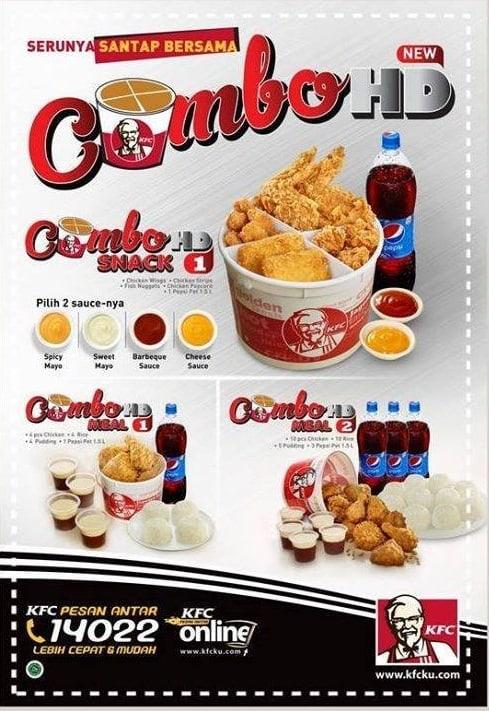 KFC Promo Pesan Antar Menu Combo HD