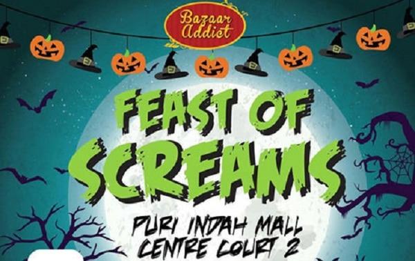 Berburu Jajanan di Feast of Scream Bazaar