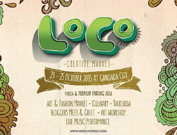 Berburu Kuliner Di Loco Creative Market Gandaria City