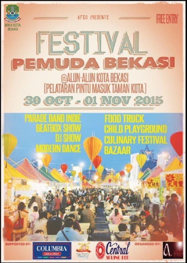 Food Truck dan Festival Kuliner di Festival Pemuda Bekasi
