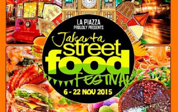 Jakarta Street Food Festival di La Piazza