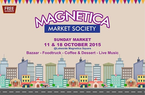 Magnetica Market Society 'Sunday Market' di Cikarang