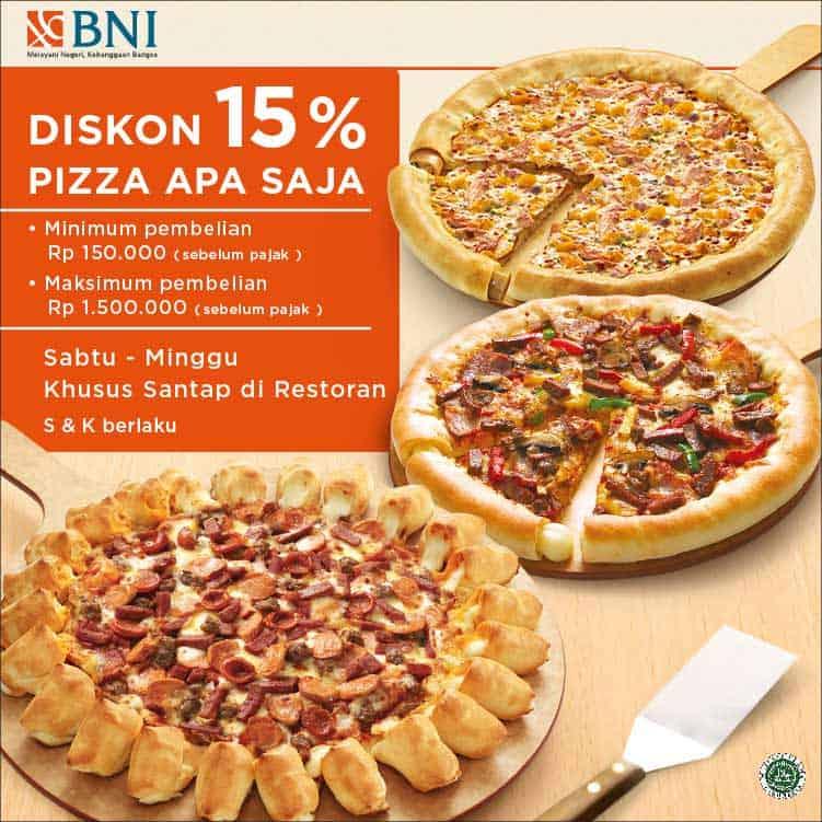 Pizza Hut Promo Sabtu Minggu Diskon 15%