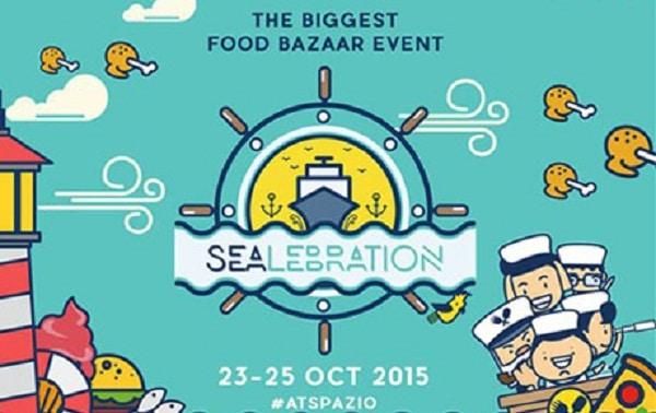 The Biggest Food Bazaar Event SEAlebration di Surabaya