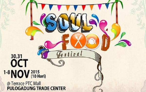 Soul Food Festival di Terrace PTC Mall