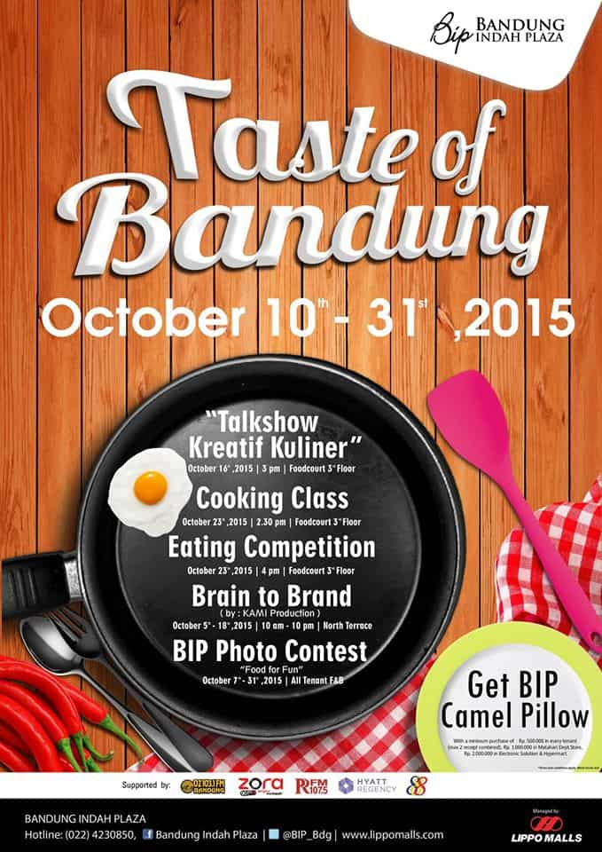 Taste of Bandung di Bandung Indah Plaza