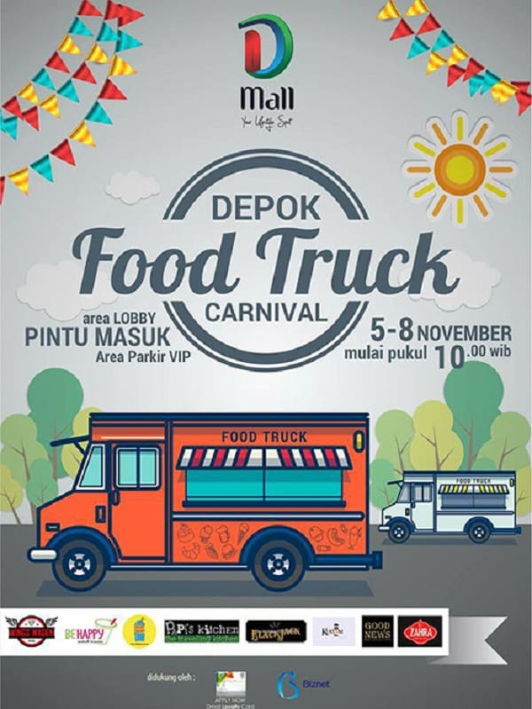 Depok Food Truck Carnival di D Mall