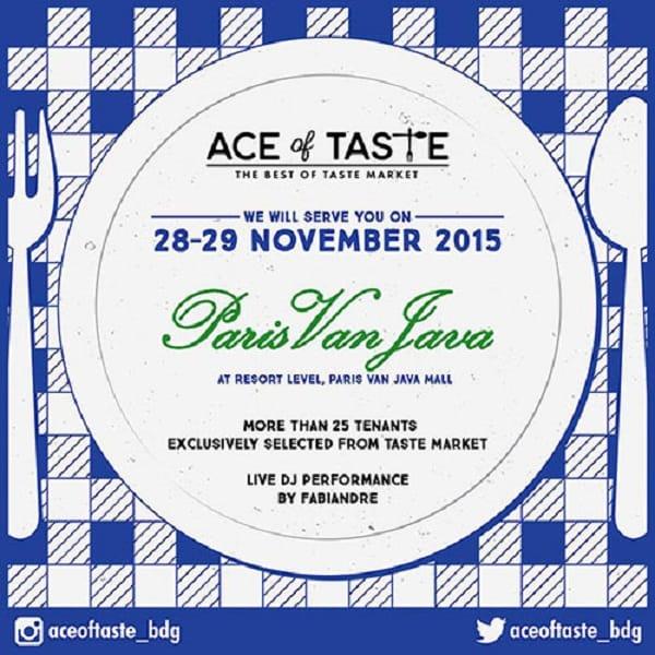 Ace of Taste di Paris Van Java Mall