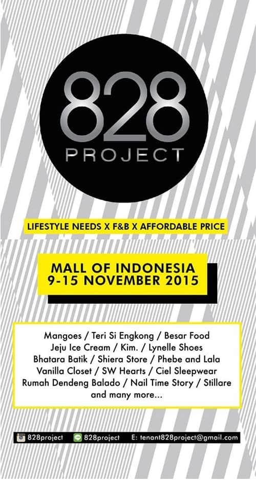 Berburu Kuliner Di 828 Project Pop Up Booth MOI