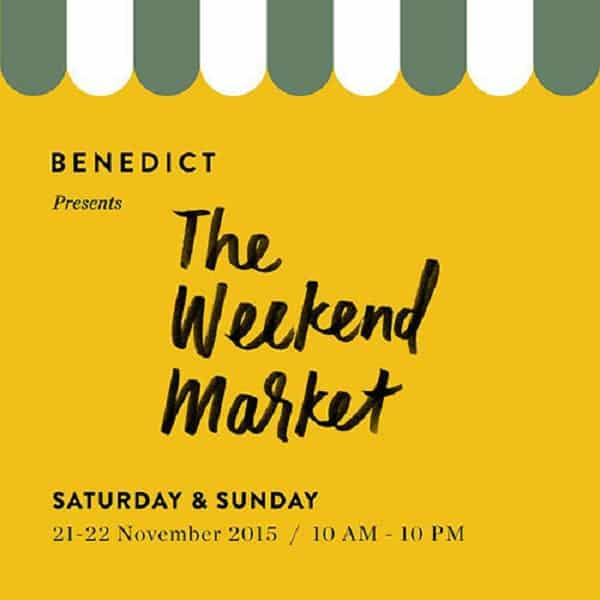 Berburu Kuliner di The Weekend Market by Benedict