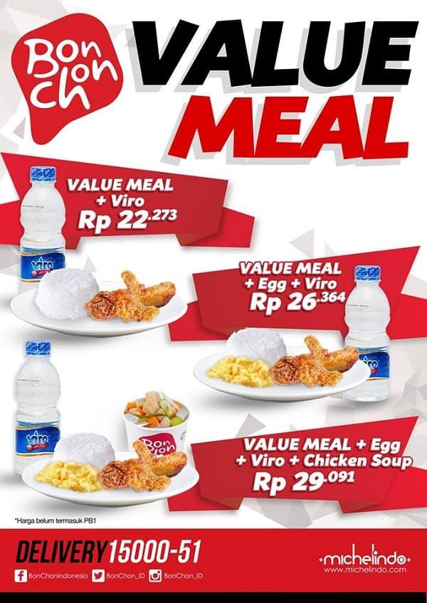 Bonchon Promo Value Meal Harga Mulai Dari Rp. 22.273,-