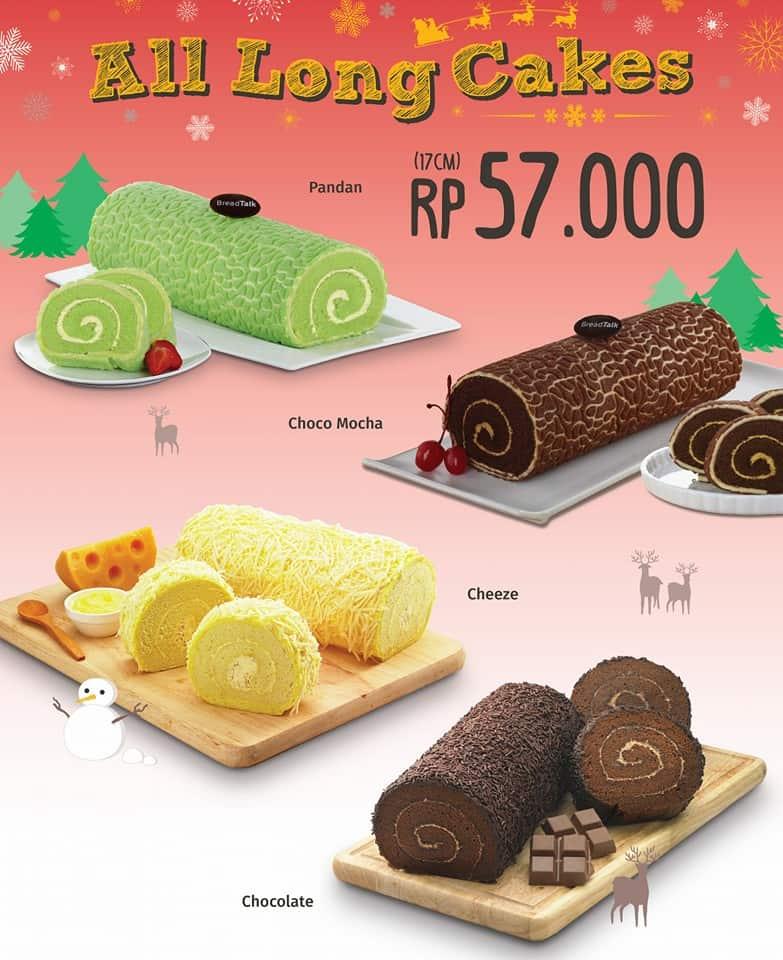Breadtalk Promo All Long Cakes Harga Spesial Hanya Rp. 57.000,-