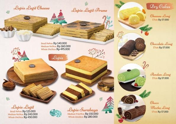 Breadtalk Promo Christmas Cake Harga Mulai Dari Rp. 57.000,-