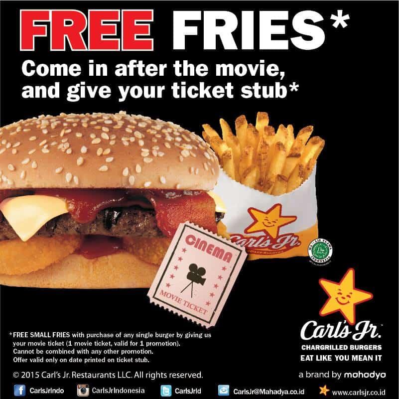 Carls Jr. Promo Movie Big Deal Free Small Fries