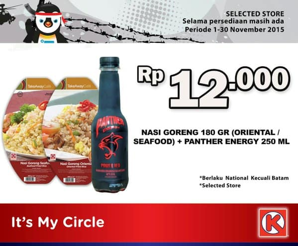 Circle K Promo Sarapan Hemat Hanya Rp. 12.000,-