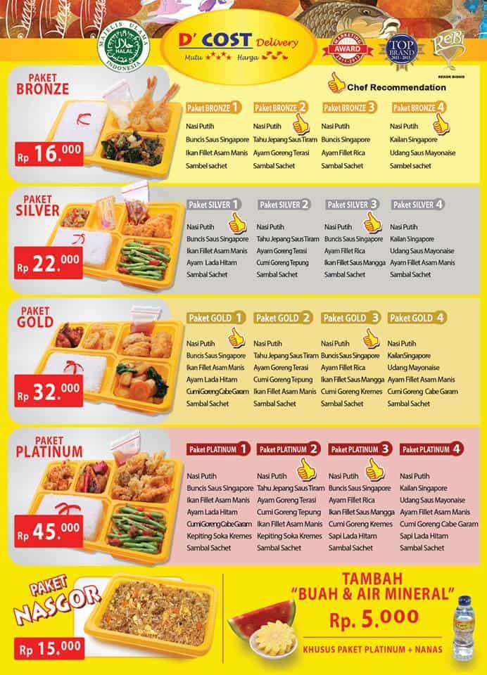 D'Cost Delivery Promo Harga Mulai Dari Rp. 16.000,-