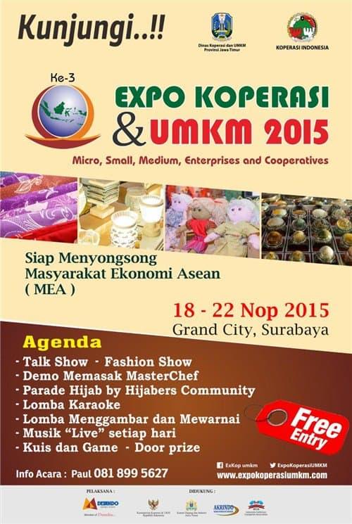 Koperasi & UMKM Expo 2015 Ke-3