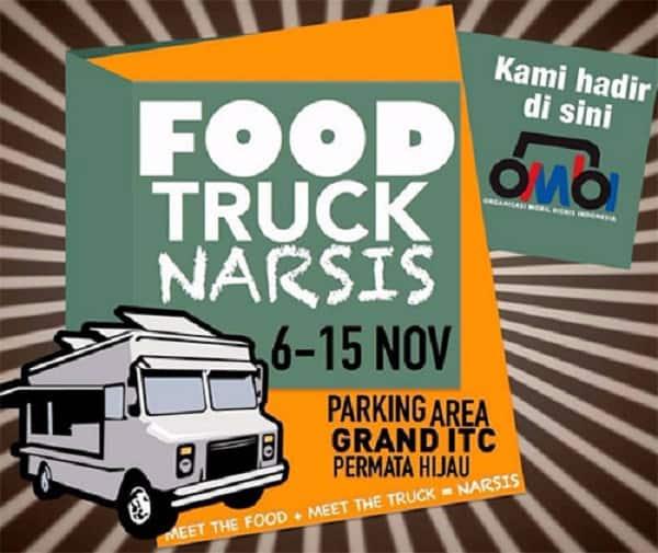 Food Truck Narsis di Grand ITC