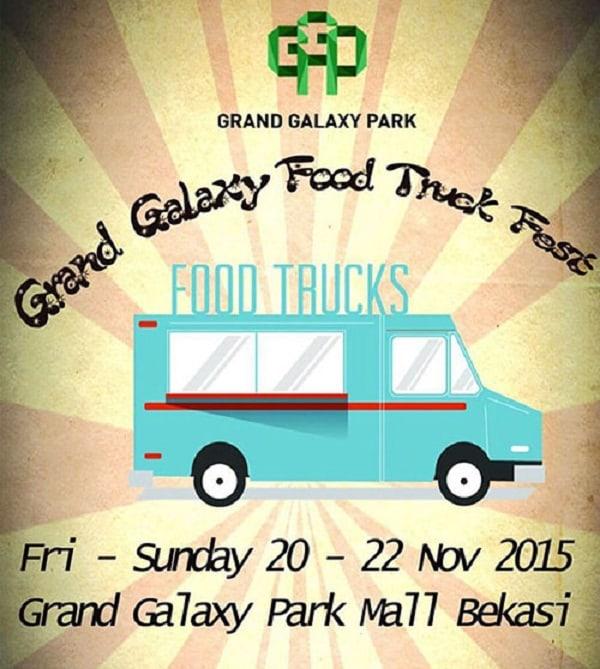 Grand Galaxy Food Truck Fest Bekasi