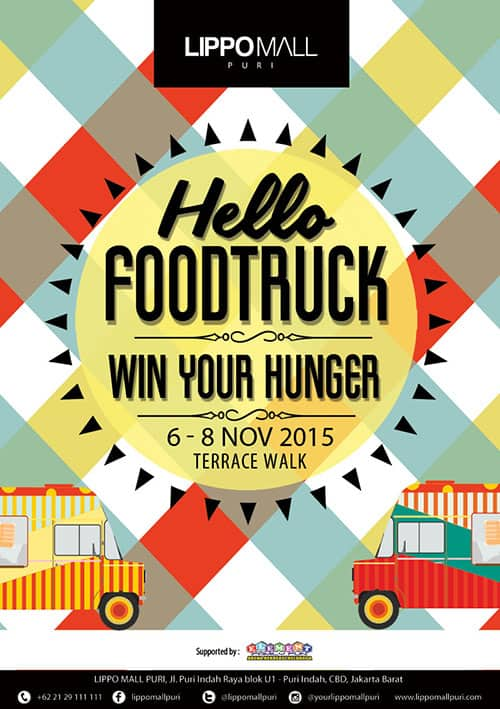 Hello Food Truck 'Win Your Hunger' at Lippo Mall Puri