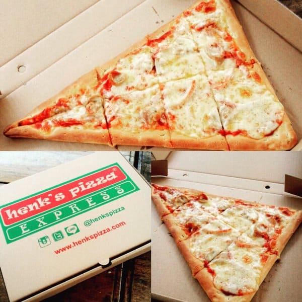 Henk's Pizza Promo Harga Spesial Hanya Rp. 40.000,-