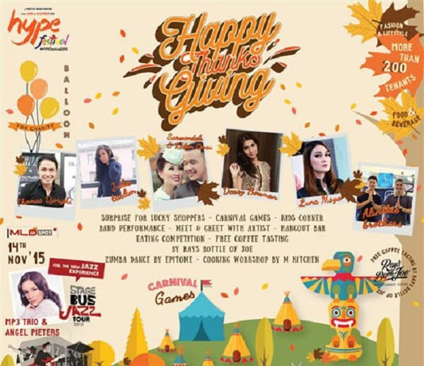Hype Festival Happy Thanks Giving di PIK