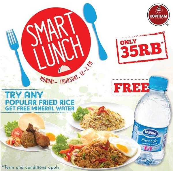 Kopitiam Promo Smart Lunch Hanya Rp. 35.000,-