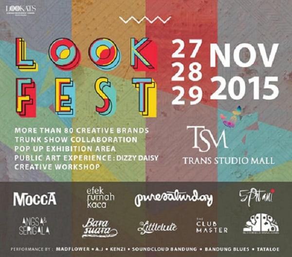 LookFest di Trans Studio Mall Bandung