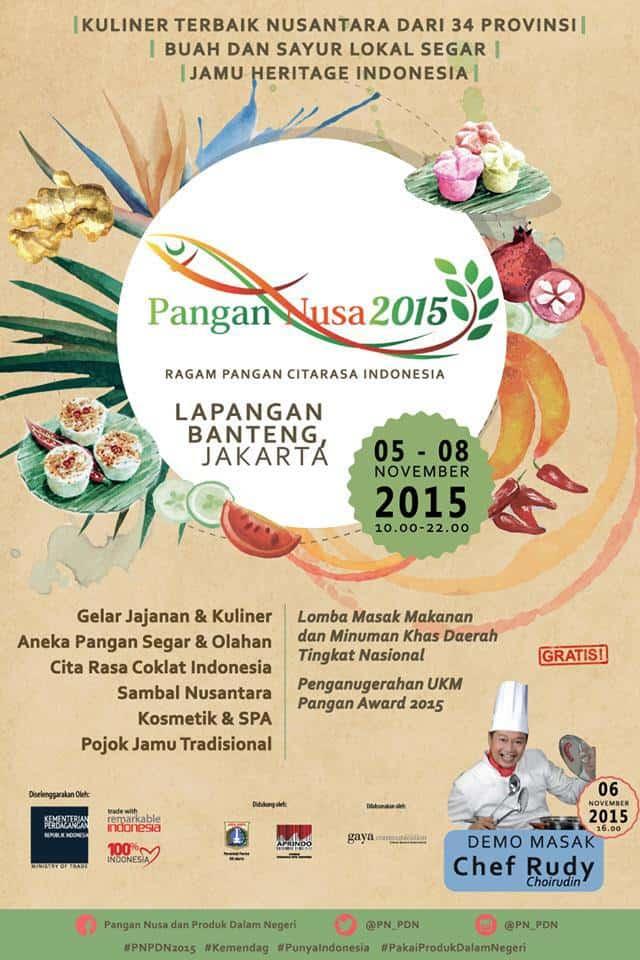 Pameran Pangan Nusa dan Produk Dalam Negeri 2015