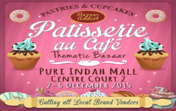 Patisserie au Cafe Thematic Bazaar di Puri Indah Mall