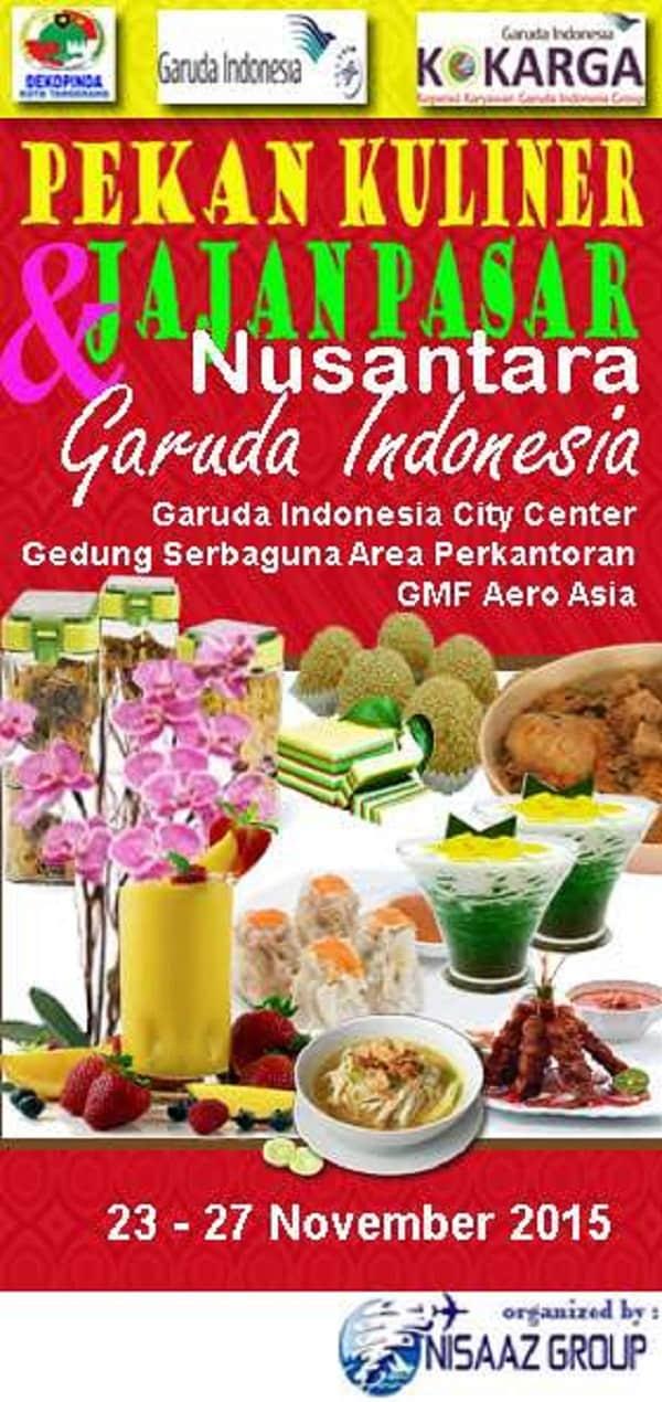 Pekan Kuliner & Jajan Pasar Nusantara Garuda Indonesia