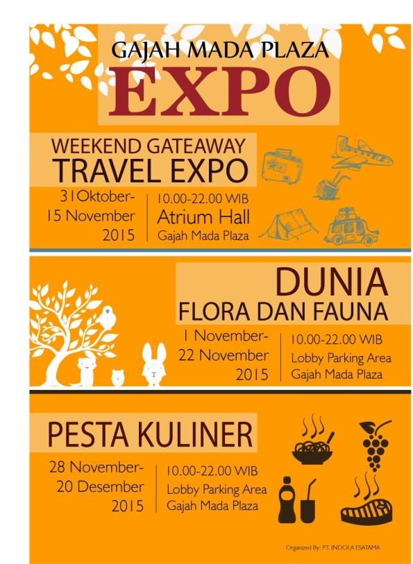 Pesta Kuliner di Gajah Mada Plaza Expo