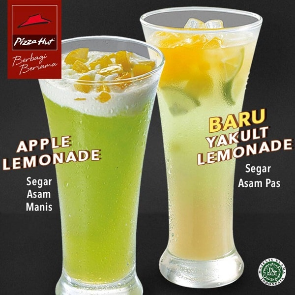 Pizza Hut Promo Dua Menu Minuman Segar Baru Lemonade