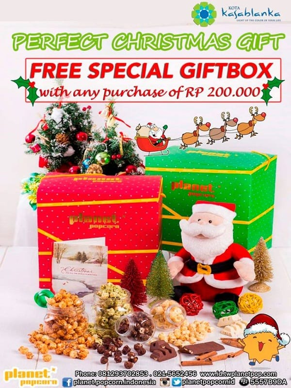 Planet Popcorn Promo Free Special Gift Box
