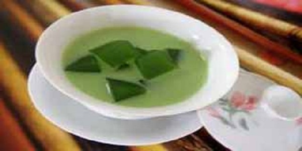 Resep Minuman Frosty Green Tea