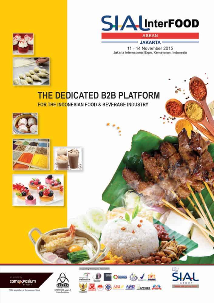 SIAL Interfood ASEAN 2015 di Jakarta