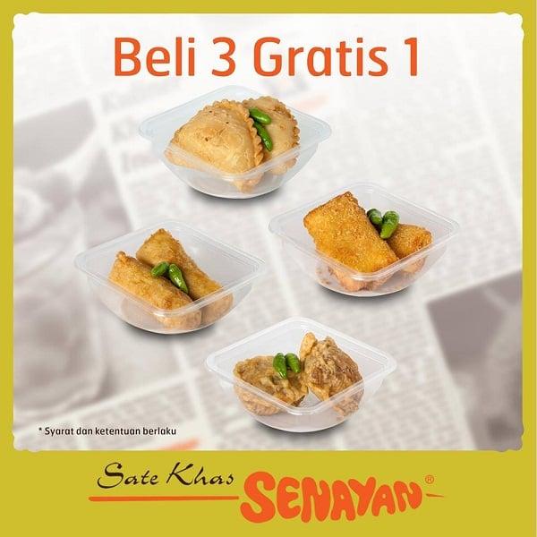 Sate Khas Senayan Promo Special Beli 3 Gratis 1
