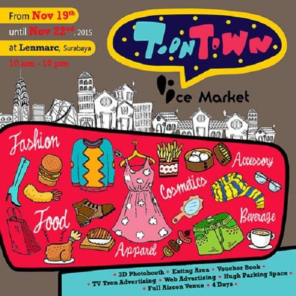 Toon Town Ice Market 2015