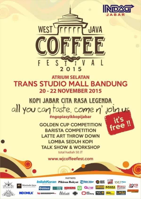 West Java Coffee Festival 2015 di Trans Studio Mall Bandung