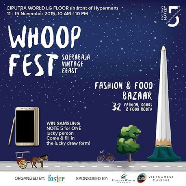 Whoop Fest Soerabaja Vintage Feast