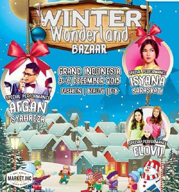 Winter Wonderland Bazaar di Grand Indonesia