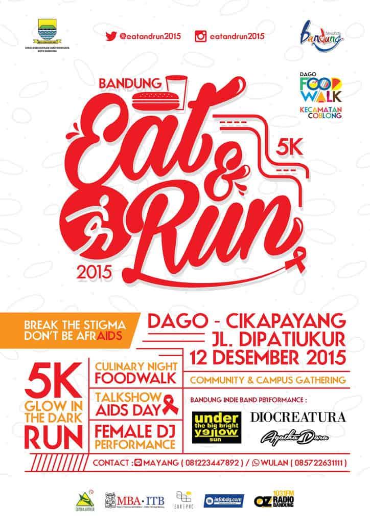 Bandung Eat & Run 5K 2015