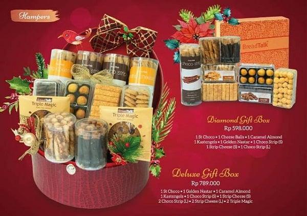 BreadTalk Diamond Gift Box & Deluxe Gift Box Harga Mulai Rp. 598.000,-