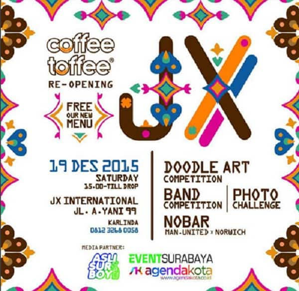 Coffe Toffee JX Expo Re-Opening