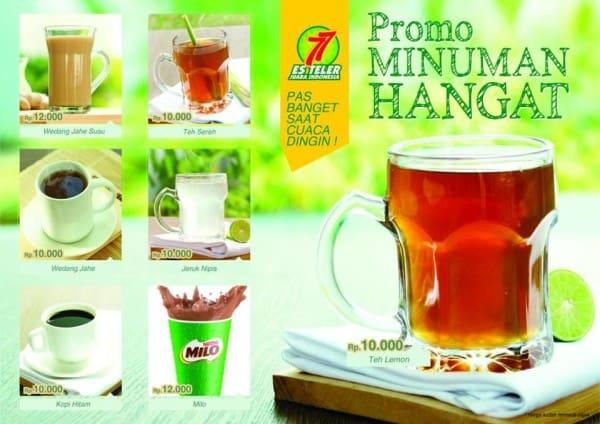 Es Teler 77 Promo Minuman Hangat Mulai Dari Rp. 10.000,-