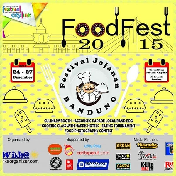 Festival Jajanan Bandung Food Fest 2015