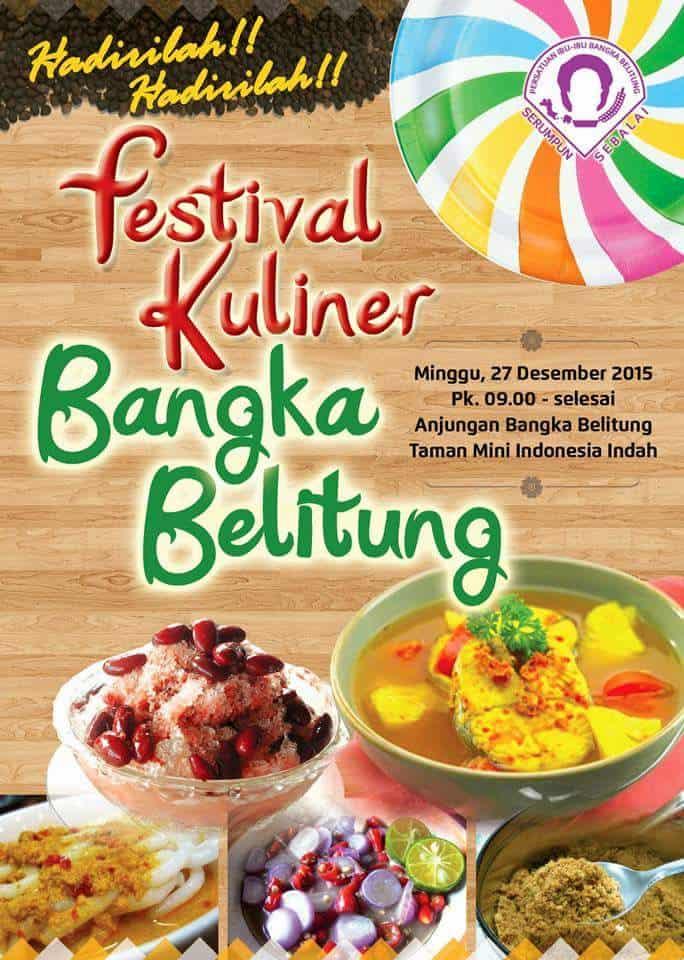 Festival Kuliner Bangka Belitung TMII